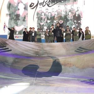 韓国国歌は親日派が作った曲だ!と訴えた反日団体の記念式、BGMは日本の曲(T-SQUARE)だったwww