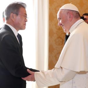 韓国メディア「北朝鮮訪問を承諾したと言ったのに」…北朝鮮をパスして日本を訪問するローマ法王