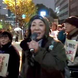 日本市民、国会前でアベに抗議「内閣支持率が下がらない!何もかもが腐りきる日本」…最後は韓国市民の歌を唄い解散