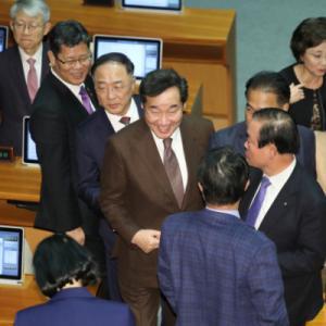 【???】韓国首相、月内辞任の意向 日韓議連・河村建夫に電話で伝える
