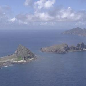 尖閣沖 中国海警局の船3隻 接続水域を航行