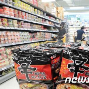 【悲報】 韓国「辛ラーメンは米国で一番売れている」 → 米国 「日本がシェア76%、韓国は15%」