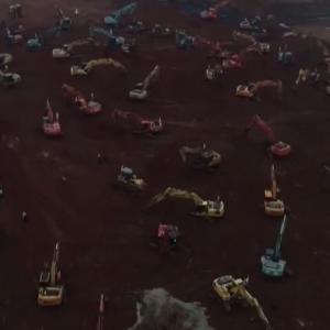武漢の巨大病院建設現場がこちらwwめっちゃ頑張ってる! #動画    建物作ってアピールか