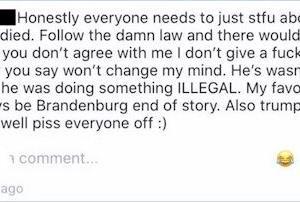「黒人男性は違法なことをしたから死んだ!」と発言した女生徒、特定され大学進学が取り消しに |  これまじなの?