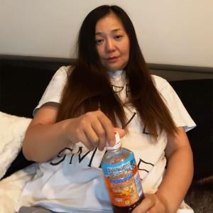 華原朋美が麦茶を飲みながら金銭危機を激白「支払い追われてる」「口座の金が減っていく」 #衝撃動画