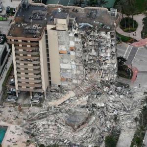 アメリカビル崩壊51人行方不明 #速報 |  中国かと思ったら。  |  立派な建物だったのになぜ