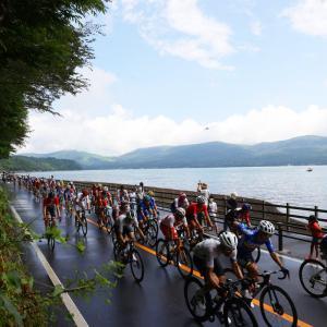 東京五輪自転車ロード日本らしい美しいコース #画像    チャリカスってホントに邪魔だよね     フルで中継してくれればいいのに