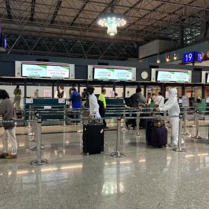 2020.5コロナ禍の緊急帰国(台湾→関西空港→岡山)その1 台湾出国