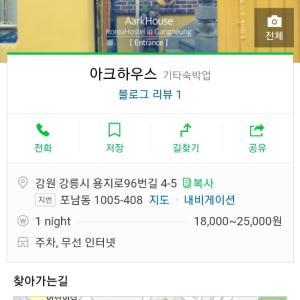 ソウルからサクッとKTXで江陵1泊2日旅行【2】江陵 外国人専用ゲストハウス