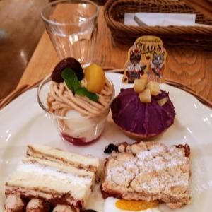 KING & QUEEN展コラボレーション 秋のスペシャルアフタヌーンティーセット食べてきました!