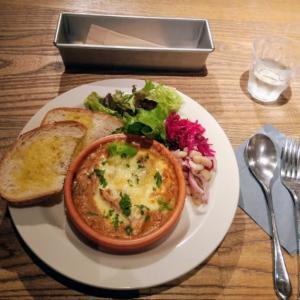ルミネ1 ラブアンドテーブルでチキンとのシチューグラタン食べてきました!