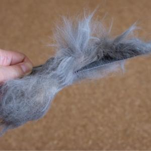 北欧猫の1回の抜け毛がエグすぎる