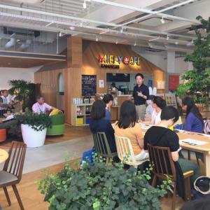 IBMプロジェクトマネジメント研修のご縁から、多治見の高校生とミッフィーカフェにて。