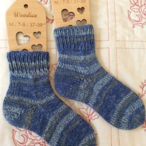 手編み靴下 作品NO.305