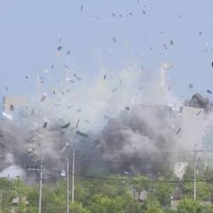 【南北戦争】北朝鮮国営テレビが遂に鮮明な爆破映像を放送「人間のくずたちに懲罰を加えた。これは第1段階」→なかなか衝撃的www