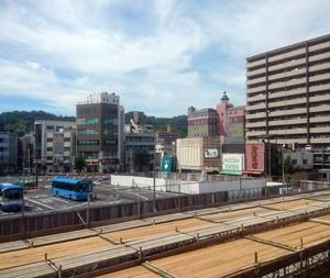 岩国駅の風景