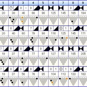 ボウリングのリーグ戦 (416)