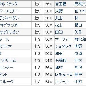 〔京成杯 2020〕血統最終予想・枠順確定、波乱演出はキムケンドリーム?