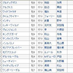 【フェブラリーステークス 2020〕血統最終予想・今年は混戦ダート決戦!!買い目発表
