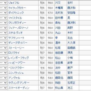 【阪急杯 2020】血統最終予想・阪神1400m巧者を狙え!!