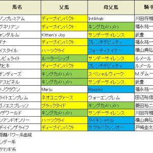 【弥生賞 2019】血統展望・出走予定馬/予想オッズ、打倒サートゥルナーリアへ権利取るのは?