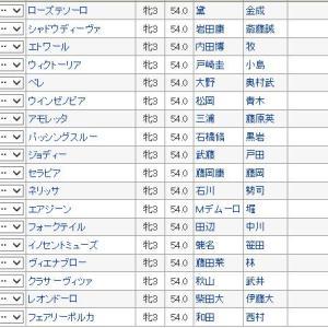【フローラステークス 2019】血統予想・買い目発表、桜花賞組への挑戦権を取るのは??