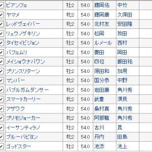 【函館2歳ステークス 2019】血統予想・枠順確定・世代初重賞勝ちは?最終買い目発表