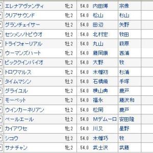 【新潟2歳ステークス 2019】血統予想・枠順確定!!3連単買い目発表!