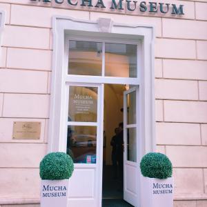 チェコ料理が食べれるレストランと『ミュシャ美術館 』7日目