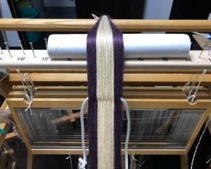 織りはやっぱり、行き当たりばったり(^_^;)