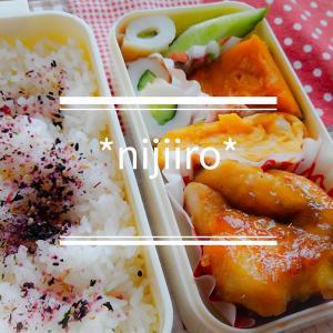 女子高校生のお弁当~鶏むね肉の甘酢炒め弁当
