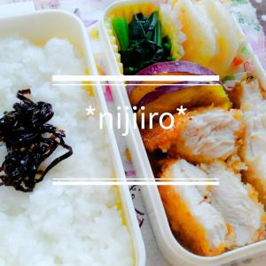 小学生の冬休み弁当・女子高校生のお弁当~チキンカツ弁当