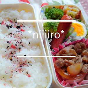 女子高校生のお弁当~豚の生姜焼き弁当
