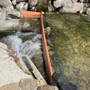 川風呂始まりと県民割の受付終了