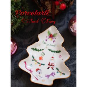 ポーセラーツ☆クリスマスプレート