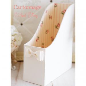 カルトナージュ☆オーダーのA4ファイルボックス