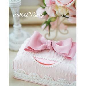 可愛いピンクの姫系ウェットティッシュケース