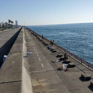 2021年2月中旬の平磯は激流でメバルサビキ撃沈