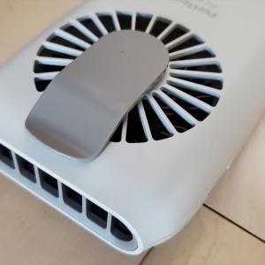 暑さ対策ハンディー扇風機、ウエストファンを買ってみた