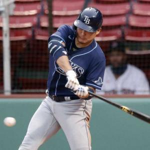 【MLB】レイズ・筒香香嘉智 メジャー2度目のマルチ安打!2打点!チーム6連勝に貢献
