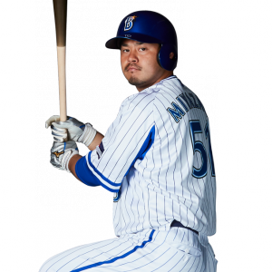 宮崎(De):7年 581試合 盗塁0 盗塁死0 犠打0