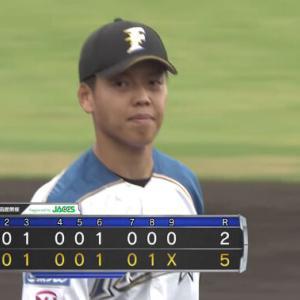【試合結果】[2021/8/4] DeNAベイスターズvs日本ハムファイターズは2-5で敗戦 投手陣は8回で被安打15 伊勢のみ三者凡退