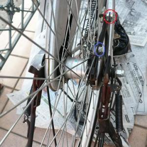 自転車のタイヤ交換とパンク修理