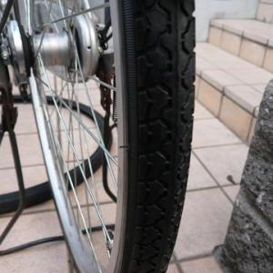 自転車の前後輪タイヤ(2本)とチューブ(2本)を取り換えた場合の最低費用