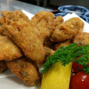 牡蠣料理、スタートします( ≧∀≦)ノ