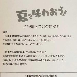 〜日清食品当選品〜