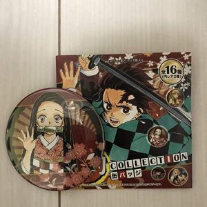 鬼滅の刃 原作 コレクション缶バッジ第1弾 禰豆子  ジャンプショップ限定
