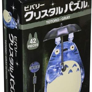 42ピース クリスタルパズル トトロ・グレー