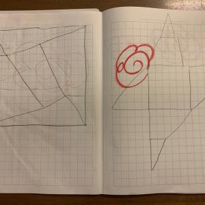 平面図形やら空間認識力やら_7歳4ヶ月&4歳3ヶ月