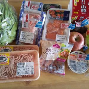 日本の宝を失った日の1日のご飯。